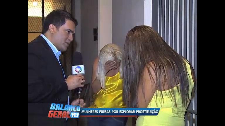 Duas mulheres foram presas por explorar prostituição em Niterói (RJ)