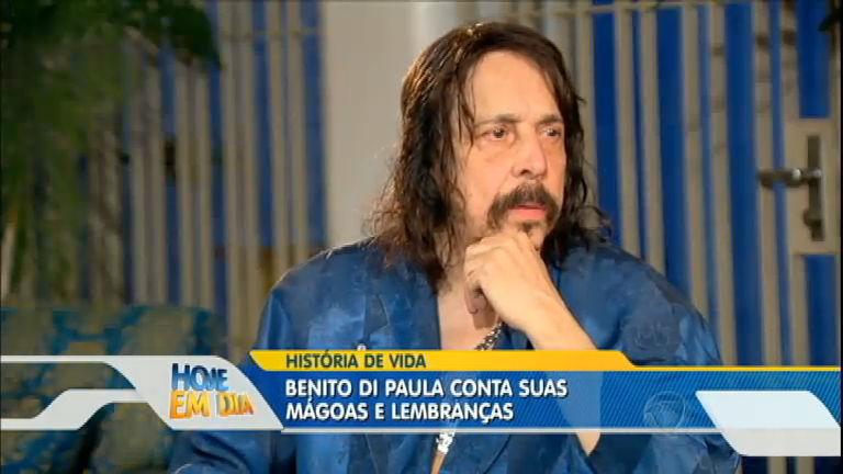 Benito di Paula conta sua história de vida na íntegra do Hoje em Dia ...