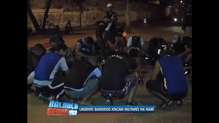 Bandidos atacam militares na Maré ( RJ) - Rio de Janeiro - R7 ...