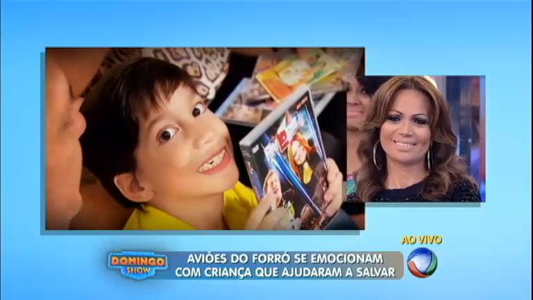 Emoção: Aviões do Forró salvam criança com paralisia cerebral e ...