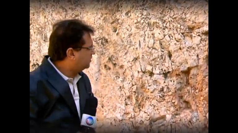 Domingo Show exibe visita de Geraldo Luís a Jerusalém ...