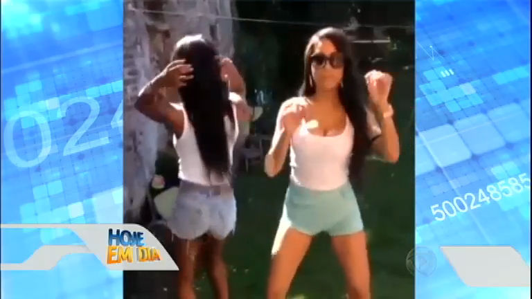 Namorada de Balotelli grava vídeo dançando funk e se diz pronta ...