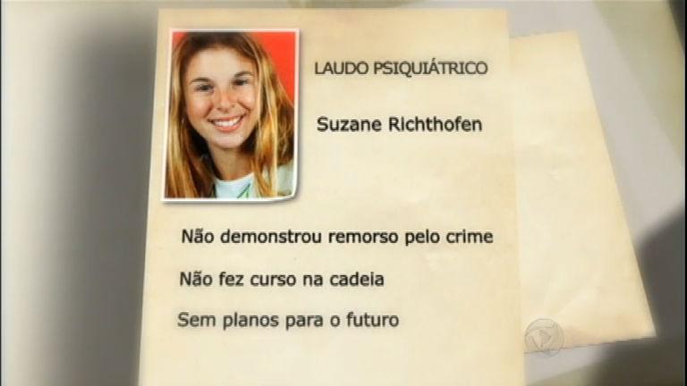 Justiça rejeita laudo psiquiátrico e Suzane Von Richthofen pode ...