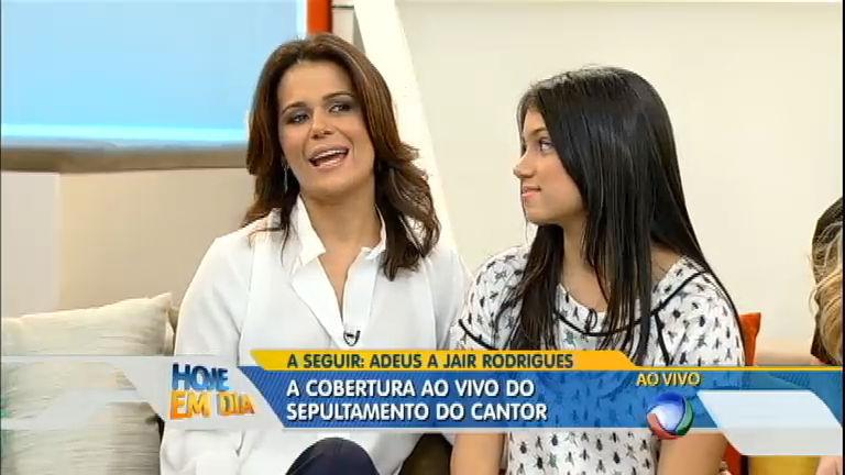 Adriana Araújo fala sobre o tratamento da filha, que fez dez ...