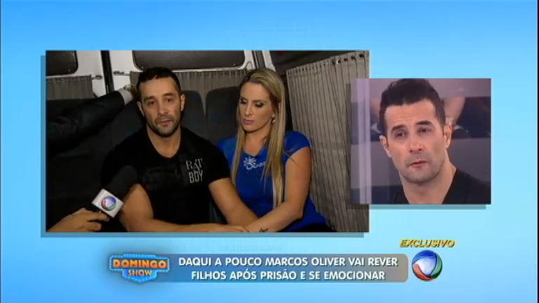 Exclusivo: Marcos Oliver revela o drama logo após deixar a prisão ...