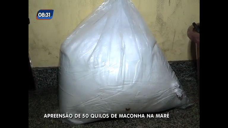 Força de Pacificação apreende 50 KG de cocaína na Maré ( RJ ...
