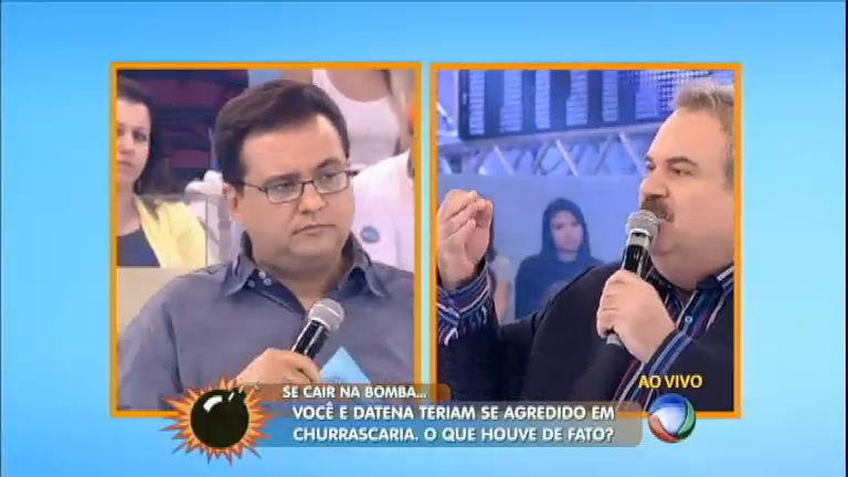 Roleta da Morte: Gilberto Barros fala sobre Datena e Daniela Mercury