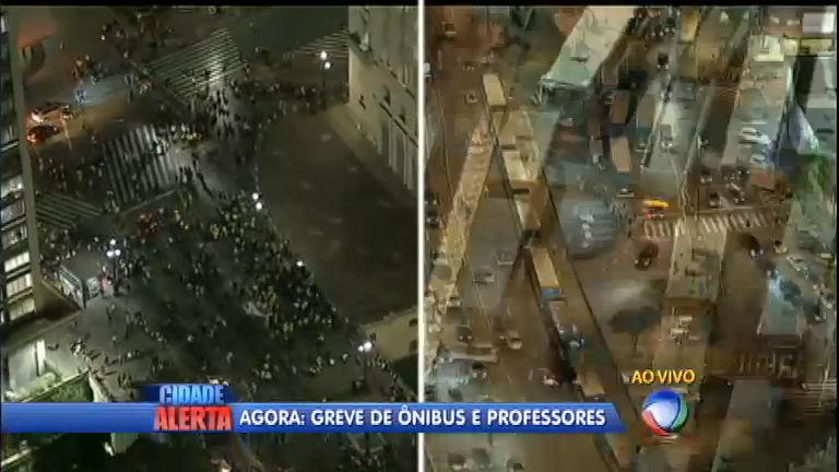 São Paulo parada: greve de motoristas de ônibus gera caos na ...