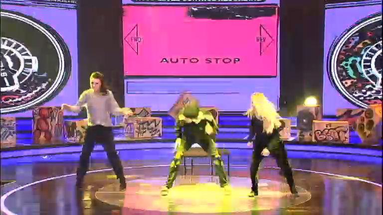 Fontenelle, Nicola e Camila suam a camisa em ensaios de break ...