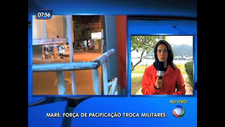 Força de Pacificação na Maré: comando troca militares na ...