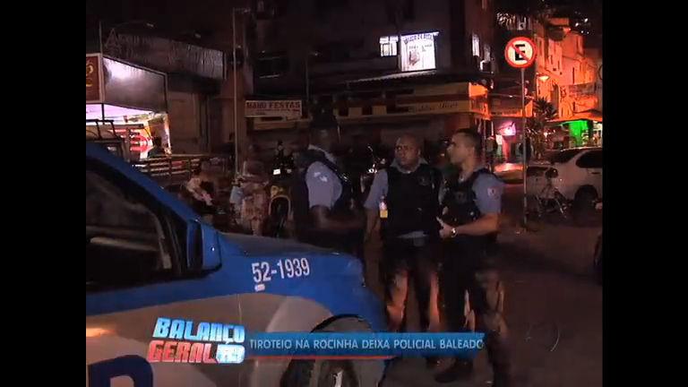 Tiroteio na Rocinha deixa policial baleado (RJ) - Rio de Janeiro ...