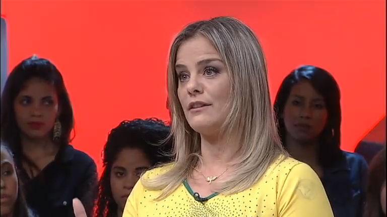 """Milene Domingues brinca que ficou um ano casada """"de mentira ..."""