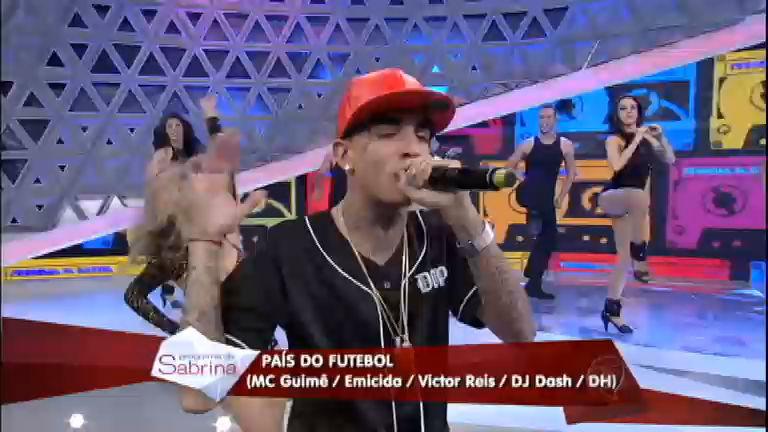 MC Guimê agita o Programa da Sabrina com a música País do ...