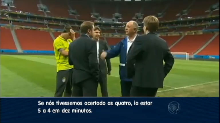 """Em conversa informal, Felipão diz que 7 a 1 foi """" fatalidade ..."""