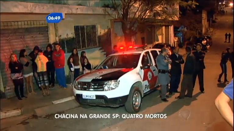 Chacina deixa quatro mortos e quatro feridos em Carapicuíba (SP ...