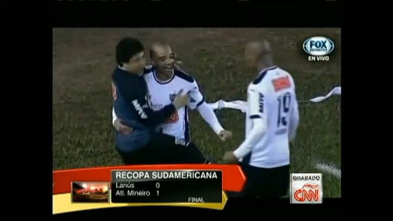 Galo vence Lanús e sai na frente na decisão da Recopa - Notícias ...