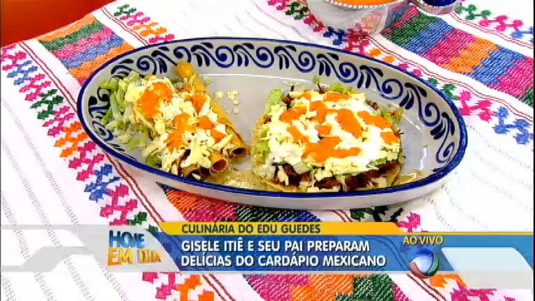 Culinária do Edu: Giselle Itié ensina a fazer tostadas tradicionais do ...