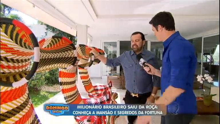 Milionário brasileiro abre as portas de sua mansão e conta ...