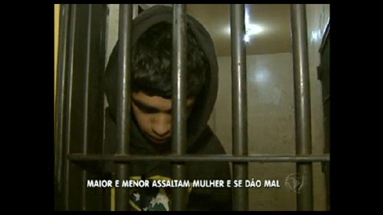 Dupla é detida depois de cometer assalto em Águas Lindas ...