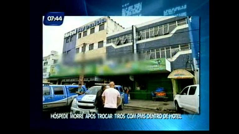 Hóspede morre após trocar tiros com PMs dentro de hotel - Bahia ...