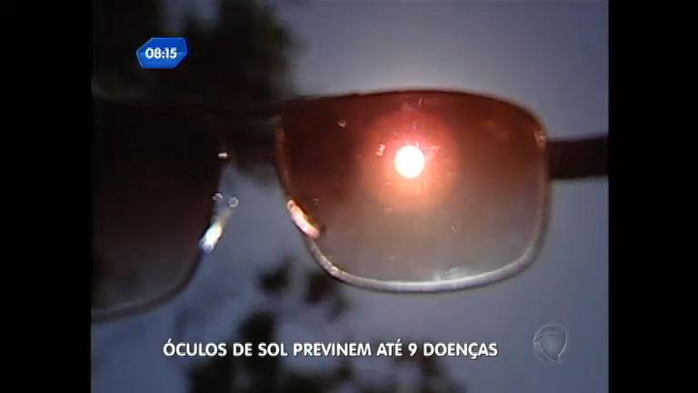 12d58273e Saúde no Ar: uso de óculos de sol falsificado pode causar doenças -  RecordTV - R7 SP no Ar