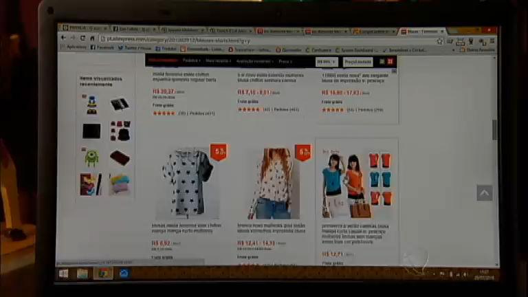 Uso de roupas importadas de países asiáticos prejudicam mercado ...