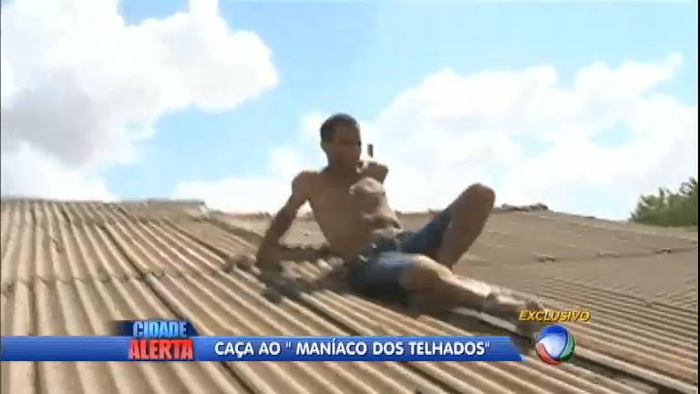 Ladrão atrapalhado tenta fugir pelo telhado e se dá mal - Notícias ...