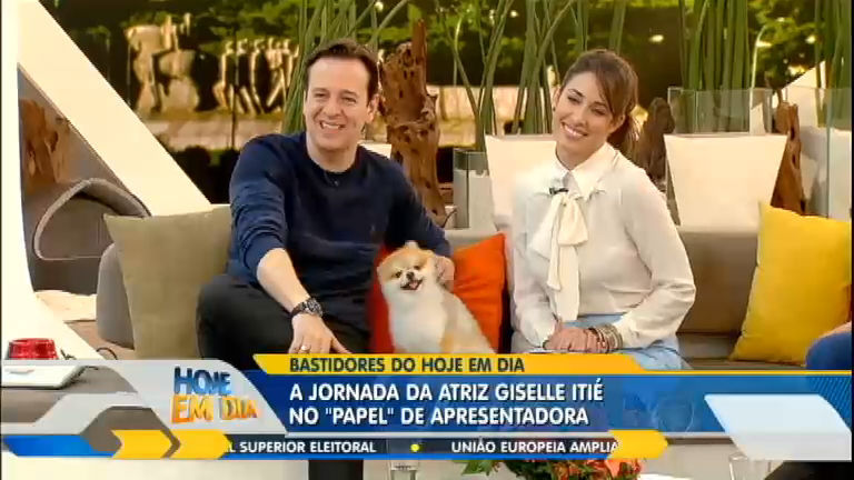 Veja como foi o cotidiano de Giselle Itié enquanto apresentou o ...