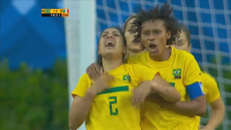 Minuto do Pan: apesar de tragédia familiar, Maurine marca gol da ...
