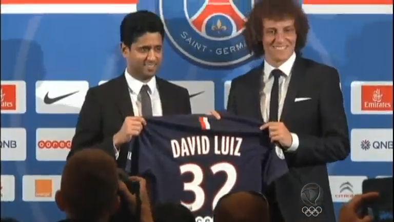 Deu O Que Falar: David Luiz é apresentado oficialmente no Paris ...