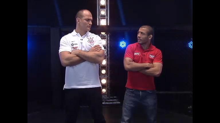 Junior Cigano e José Aldo enfrentam Roberto Justus nesta segunda ...