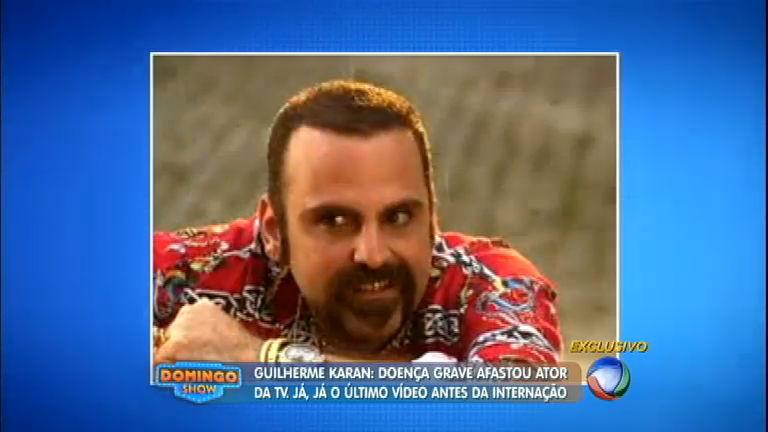 Guilherme Karan vive drama por sofrer de doença degenerativa ...