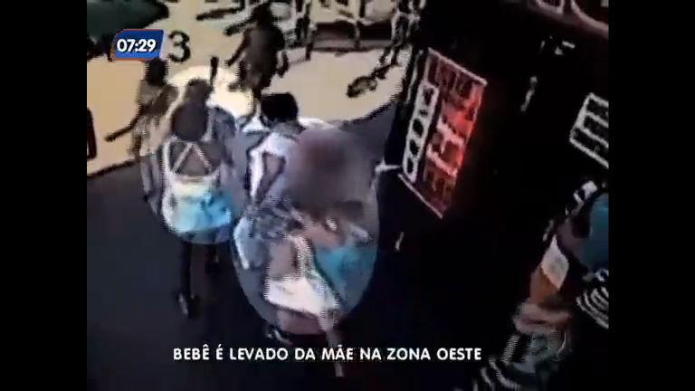 Bebê é roubado de mãe em Campo Grande, na zona oeste do Rio ...