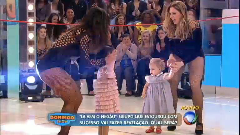Scheila Carvalho e Sheila Mello revivem É O Tchan com a Dança ...