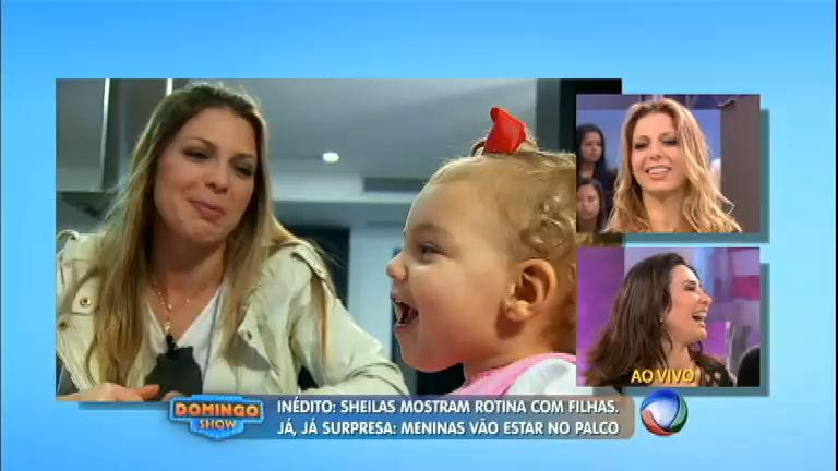 Nova rotina: Scheila Carvalho e Sheila Mello mostram como está ...