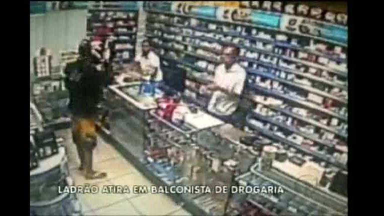 Ladrão atira em balconista de drogaria em Curvelo (MG) - Minas ...