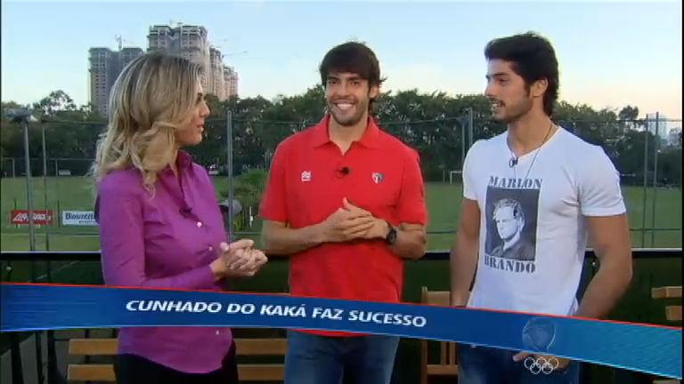 """Esporte Fantástico conhece o cunhado """"galã"""" de Kaká - Record ..."""
