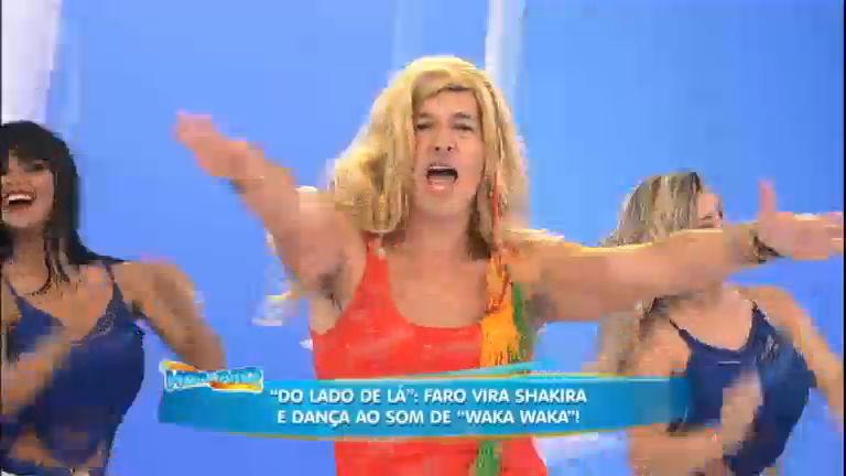 Dança Gatinho voltou? Faro vira Shakira e dança o Waka Waka ...