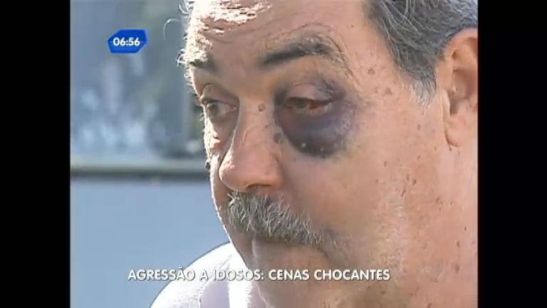 Câmeras mostram idosos sendo agredidos e ofendidos em locais ...