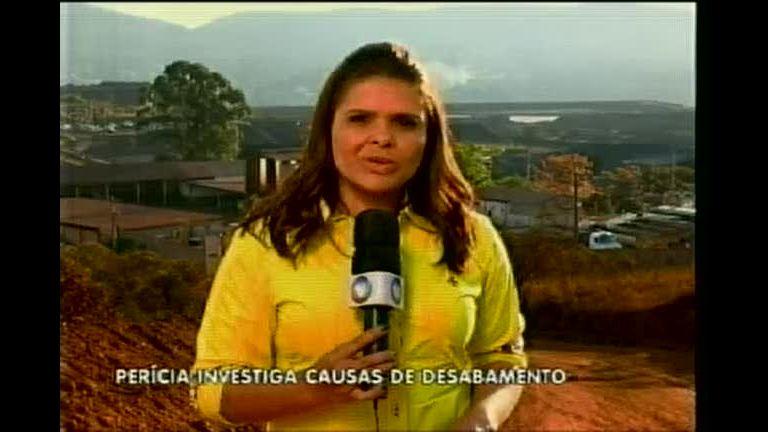 Perícia investiga causas de desabamento em barragem de ...