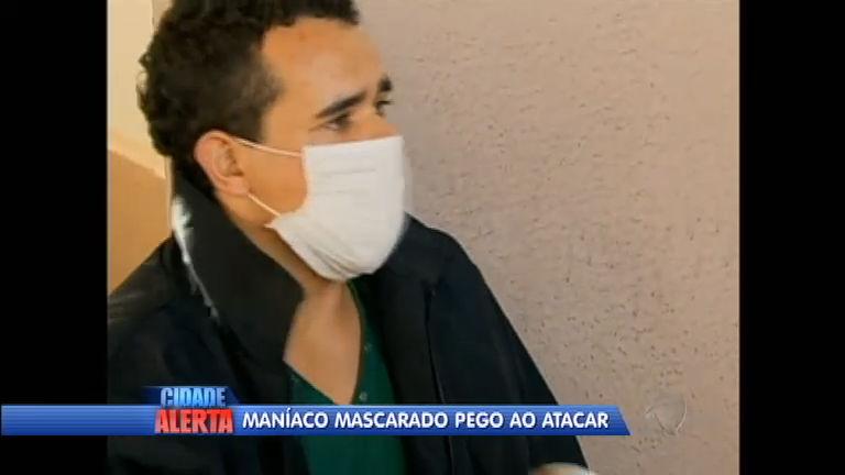 Maníaco da máscara cirúrgica é preso em Anápolis e reconhecido ...