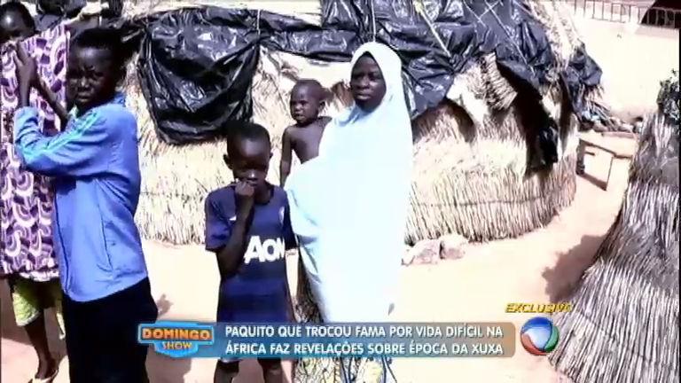 Ex-paquito largou a fama, se mudou para a África e adotou 17 filhos ...
