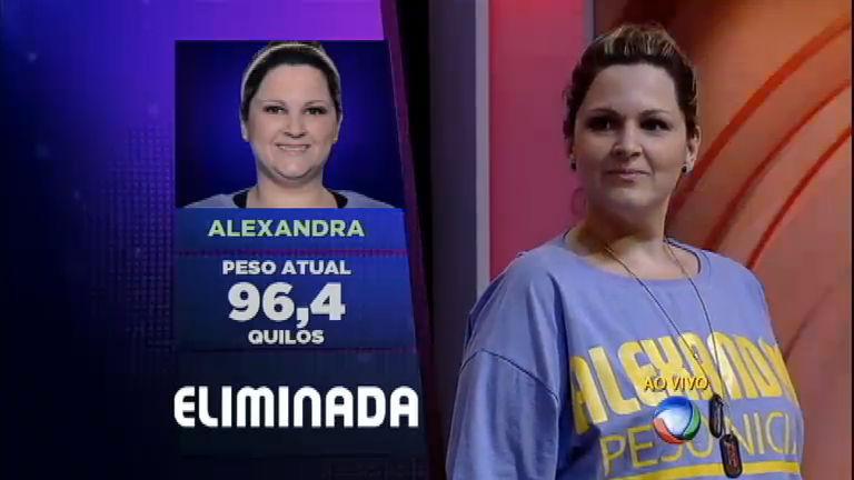 Fabiana e Alexandra são eliminadas do Além do Peso ...