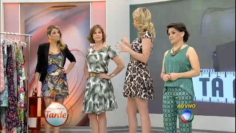 Tá na Moda: aprenda com Ana Hickmann a usar estampas em ...