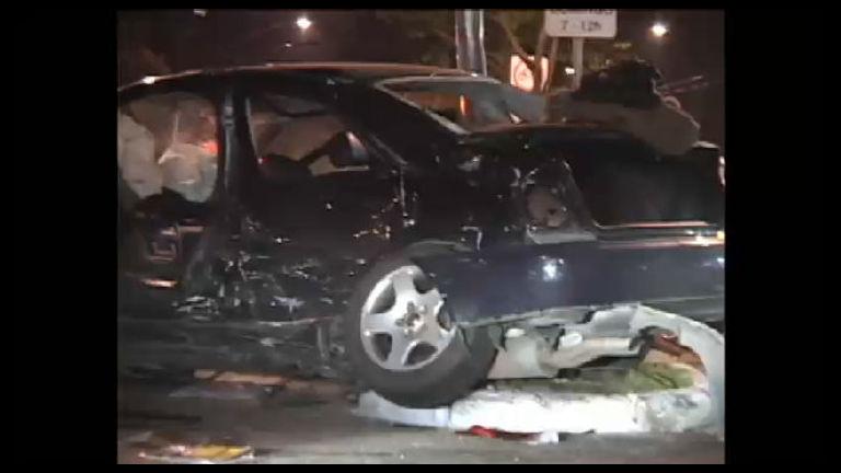 Imprudência: carro avança sinal, causa acidente e deixa um morto ...