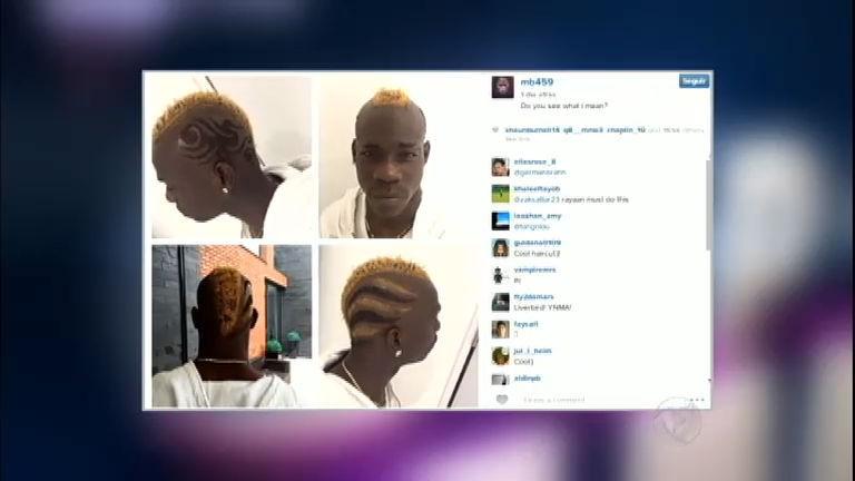 Esporte Fama: Balotelli radicaliza com novo visual do cabelo ...