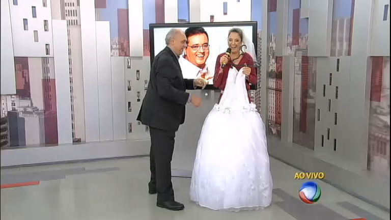 Novo casal? Geraldo Luís dá vestido de noiva para Ticiane Pinheiro ...