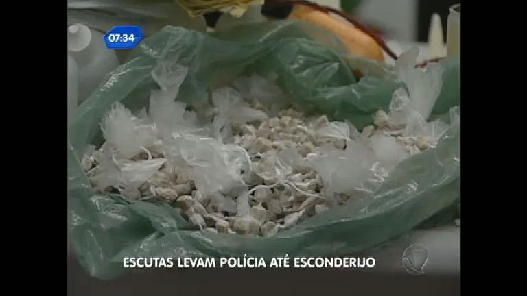 Polícia descobre esconderijo de drogas em São Vicente ( SP) após ...