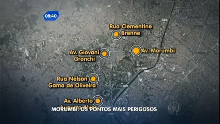 Após arrastão, mapeamento revela regiões mais perigosas do ...