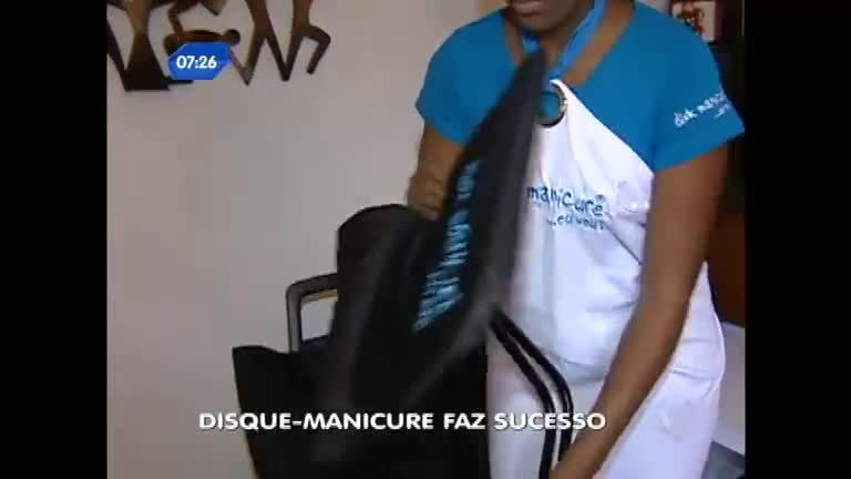 Serviço de disque- manicure faz sucesso e agrada mulheres ...